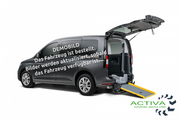 Volkswagen Caddy 2.0 TDI Rollstuhlumbau