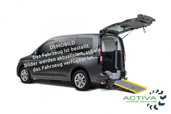 Volkswagen Caddy Style 1.5 TSI DSG Rollstuhlumbau