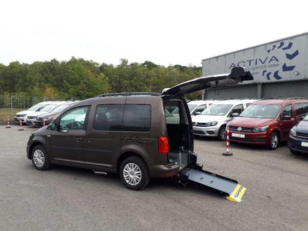 Volkswagen Caddy Trendline 1.0 TSI Rollstuhlumbau *Knubel MS*